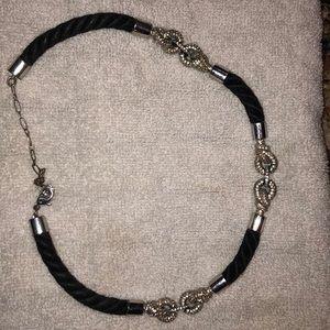 Swarovski necklace and matching bracelet.